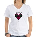 Heart - Kerr Women's V-Neck T-Shirt