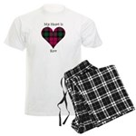 Heart - Kerr Men's Light Pajamas