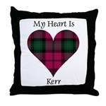 Heart - Kerr Throw Pillow