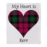 Heart - Kerr Throw Blanket