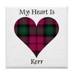 Heart - Kerr Tile Coaster