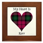 Heart - Kerr Framed Tile