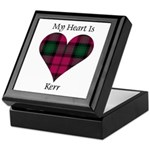 Heart - Kerr Keepsake Box