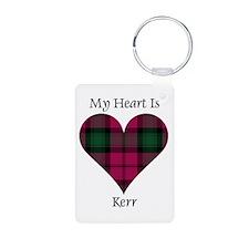 Heart - Kerr Aluminum Photo Keychain