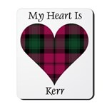 Heart - Kerr Mousepad