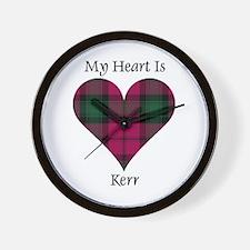 Heart - Kerr Wall Clock