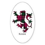 Lion - Kerr Sticker (Oval 10 pk)