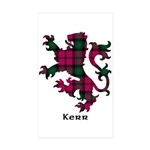 Lion - Kerr Sticker (Rectangle 50 pk)