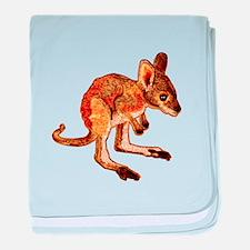 Kangaroo Joey baby blanket
