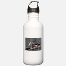 Woodduck and Wood Water Bottle