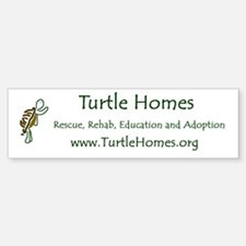 Turtle Homes Bumper Bumper Bumper Sticker