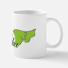 Puka (green) Logo Mug