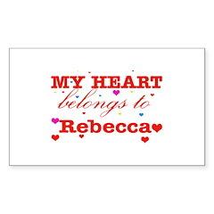 I love Rebecca Decal