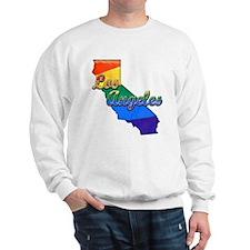 Los Angeles, California. Gay Pride Sweatshirt