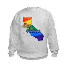Los Olivos, California. Gay Pride Sweatshirt