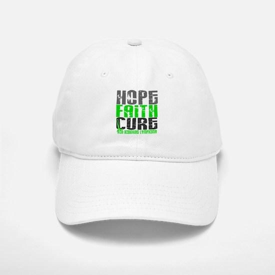 Hope Faith Cure NH Lymphoma Baseball Baseball Cap
