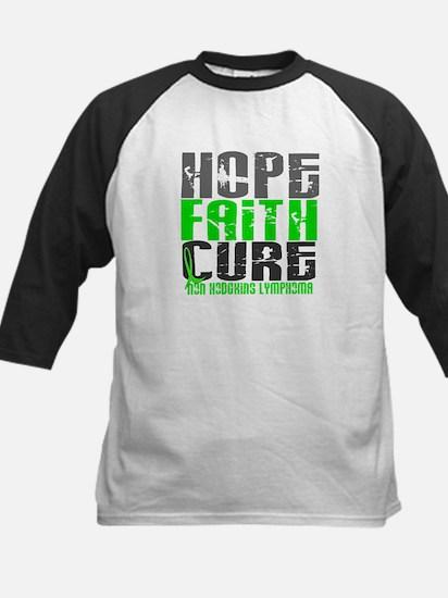Hope Faith Cure NH Lymphoma Kids Baseball Jersey