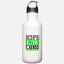 Hope Faith Cure NH Lymphoma Water Bottle