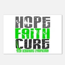Hope Faith Cure NH Lymphoma Postcards (Package of