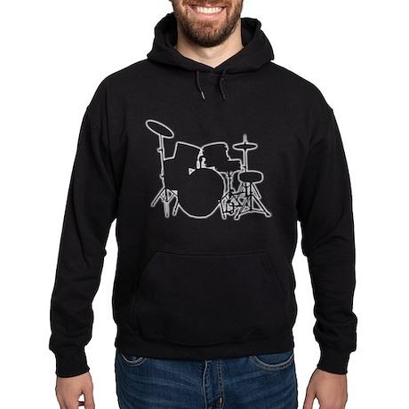 Glowing Drum Kit Hoodie (dark)