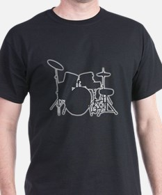 Glowing Drum Kit T-Shirt