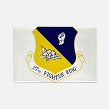 27th Fighter Wing Rectangle Magnet