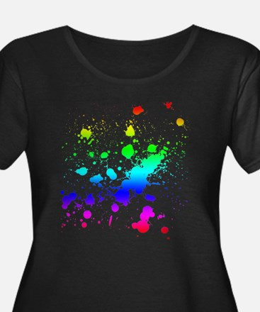 Rainbow Splatter T