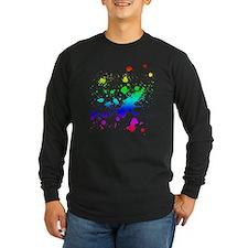 Rainbow Splatter T
