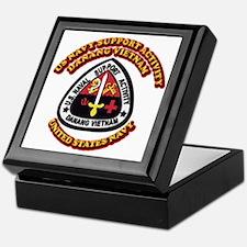 US - NAVY - USNSA - Danang Vietnam Keepsake Box
