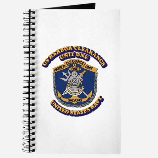 US - NAVY - Harbor Clearance Unit One Journal