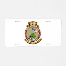 US - NAVY - USS Iwo Jima Aluminum License Plate