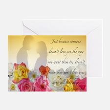 Loving Someone Greeting Card