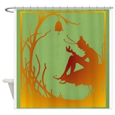 Woodland Fairy / Elf Shower Curtain