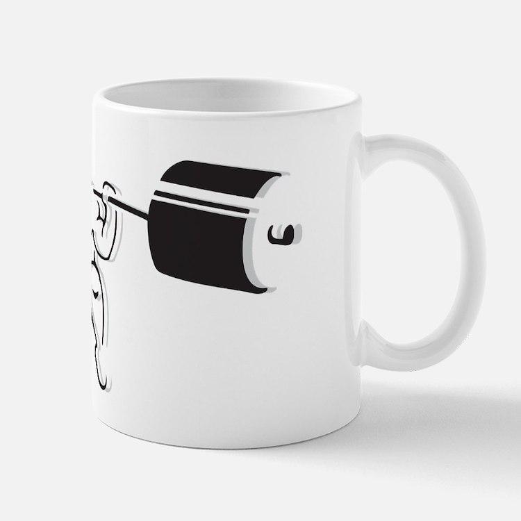 Powerlifting Squat Mug