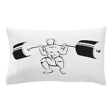 Powerlifting Squat Pillow Case