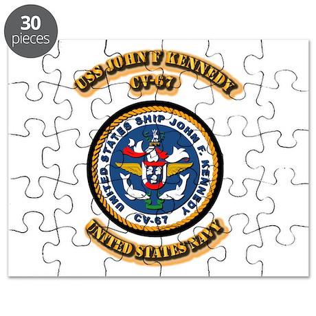 US - NAVY - USS John F Kennedy - CV-67 Puzzle