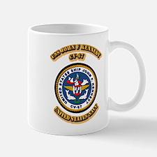 US - NAVY - USS John F Kennedy - CV-67 Mug