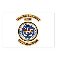 US - NAVY - USS John F Kennedy - CV-67 Postcards (