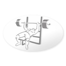 Powerlifting Bench Press Decal