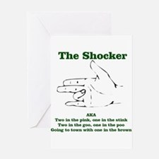 The Shocker...AKA...... Greeting Cards (Package of