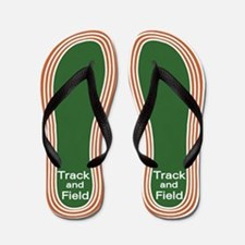Track and Field Flip Flops
