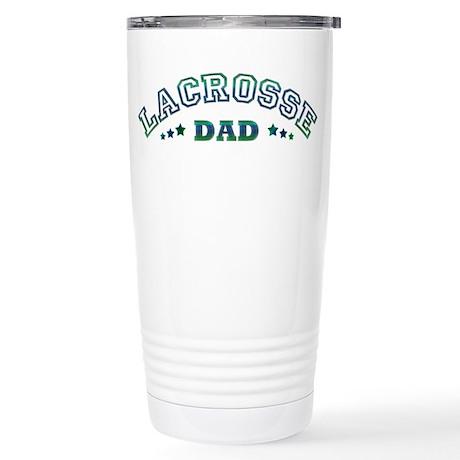 Lacrosse Dad Stainless Steel Travel Mug