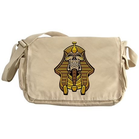 Skull Pharaoh Messenger Bag