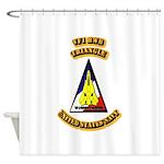 US - NAVY - VF-1 - RWB - Triangle Shower Curtain