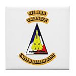 US - NAVY - VF-1 - RWB - Triangle Tile Coaster