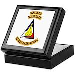 US - NAVY - VF-1 - RWB - Triangle Keepsake Box