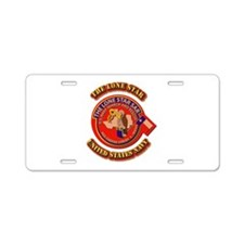 US - NAVY - The Lone Star Sar Aluminum License Pla