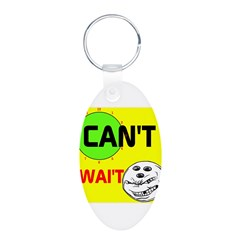 OYOOS Can't Wait Bowling design Keychains