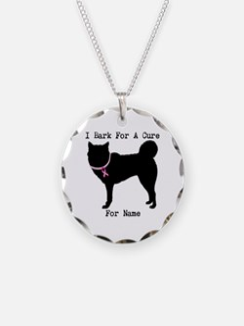 Siberian Husky Personalizable I Bark For A Cure Ne