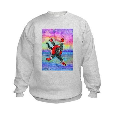 Practice makes perfect appare Kids Sweatshirt